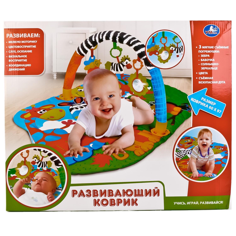 Фото - Игровой коврик Умка B1513337-R игрушки для новорождённых