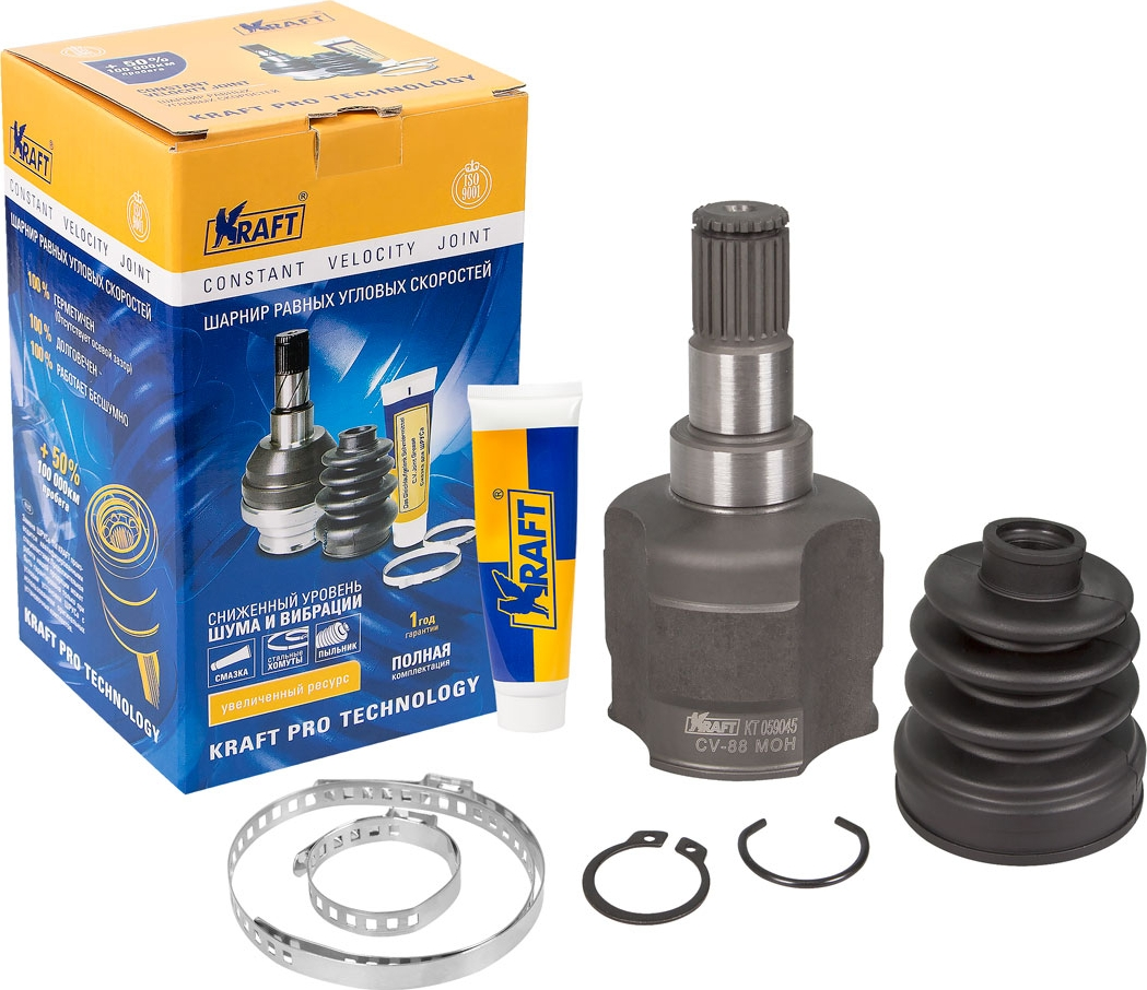 Шарнир внутренний Kraft, для Daewoo Matiz (98-)/Chevrolet Spark (98-) 0.8/1.0 98