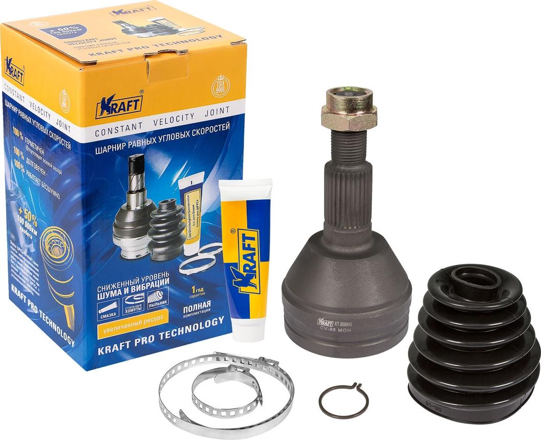Шарнир наружный Kraft, для Captiva (06-)/Opel Antara (06-) 2.0/2.4/3.2 MT/AT 50n03 06