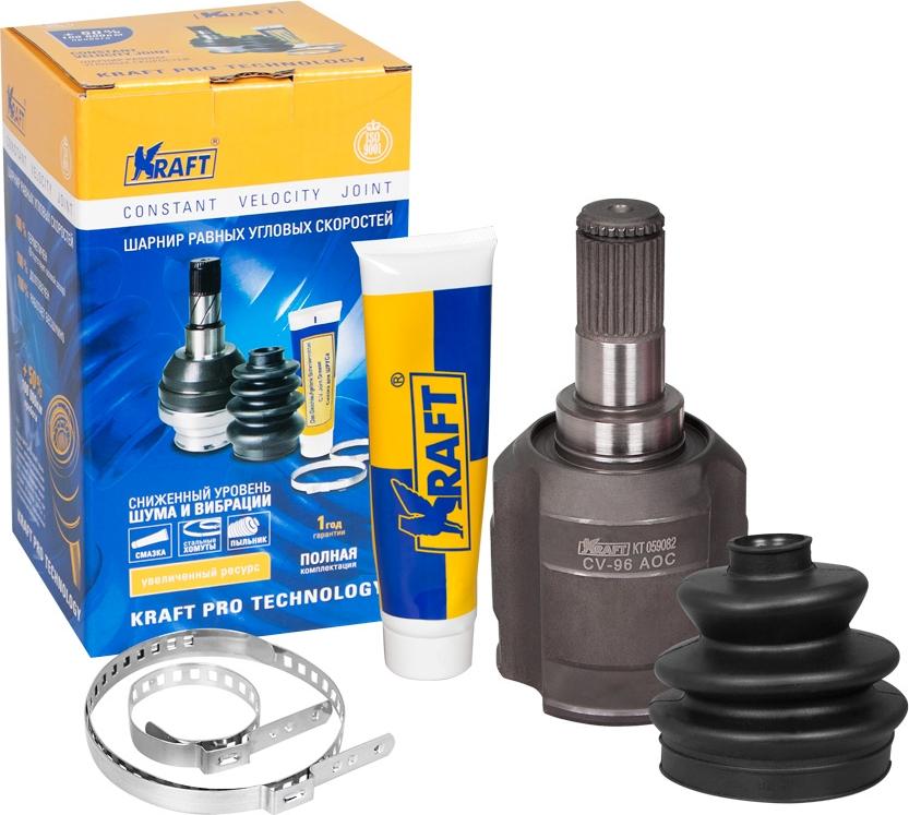 цена на ШРУС внутренний левый Kraft, для Kia Cerato 2.0 (04-), Sportage 2.0 CRDi (04-)