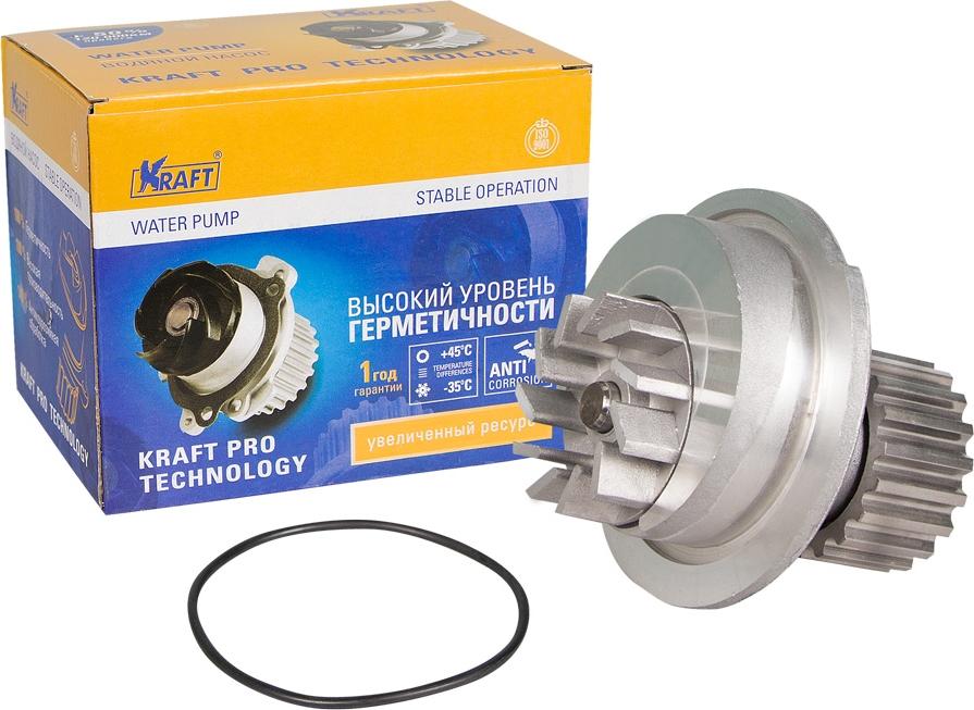 Водяной насос Kraft, для Chevrolet Lacetti/Daewoo Kalos цена 2017