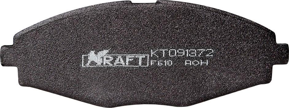 Фото - Тормозные колодки дисковые Kraft KT 091372 qq 30