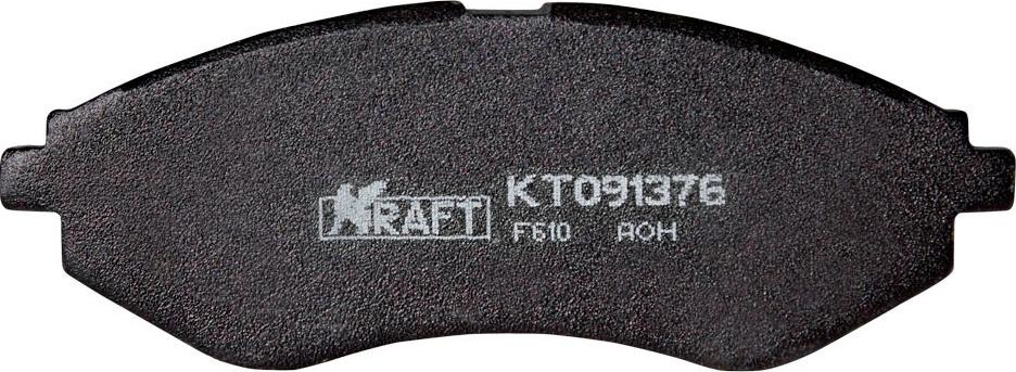 Тормозные колодки дисковые Kraft KT 091376