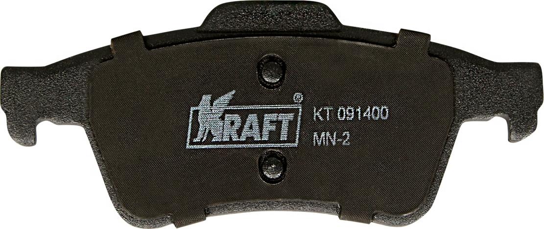 Тормозные колодки дисковые Kraft KT 091400 тормозные колодки abs v40 c70 v50 s40 9 3 3 focus vectra signum vectra 03 19 37464
