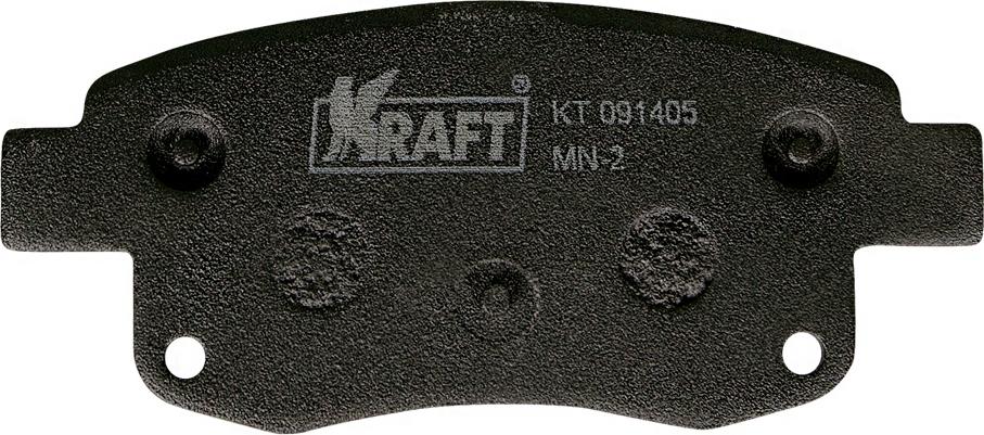 Тормозные колодки дисковые Kraft KT 091405 тормозные колодки abs transit tourneo custom transit custom 12 19 37980