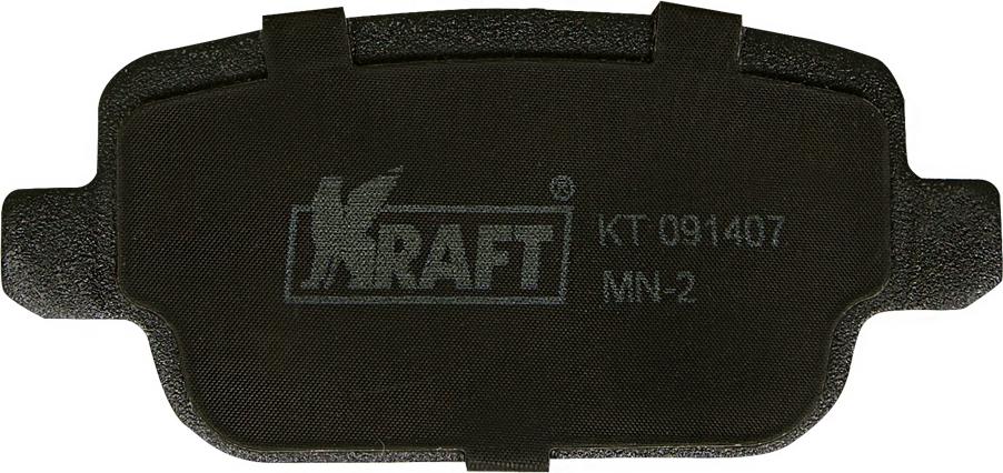 Тормозные колодки дисковые Kraft KT 091407 тормозные колодки abs v60 s60 xc60 xc70 v70 s80 evoque freelander s max galaxy 06 19 37562