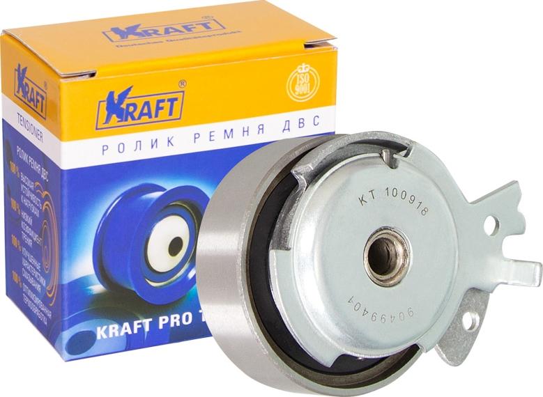 цена на Натяжной ролик ремня ГРМ Kraft, для Daewoo Espero, Lanos 1.3-1.5 (97-)/Opel Astra, Vectra, Corsa 1.4-1.6 (91-)/ZAZ Chance 1.5 (04-)