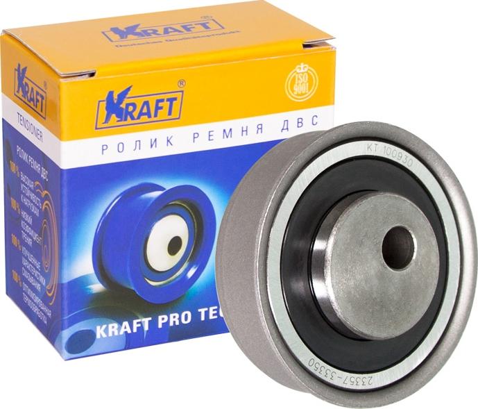 Натяжной ролик ремня ГРМ Kraft, для Hyundai H-1, Santa Fe, Sonata 2.0-2.4 (94-06)/KIA Magentis, Sorento 2.0-2.4 (01-)/Mitsubishi Galant, L200, Lancer, Airtrek 2.0-2.4 (96-) (992)