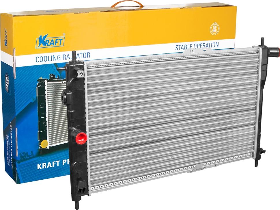 Радиатор охлаждения механический Kraft, для Nexia MT дверь nexia