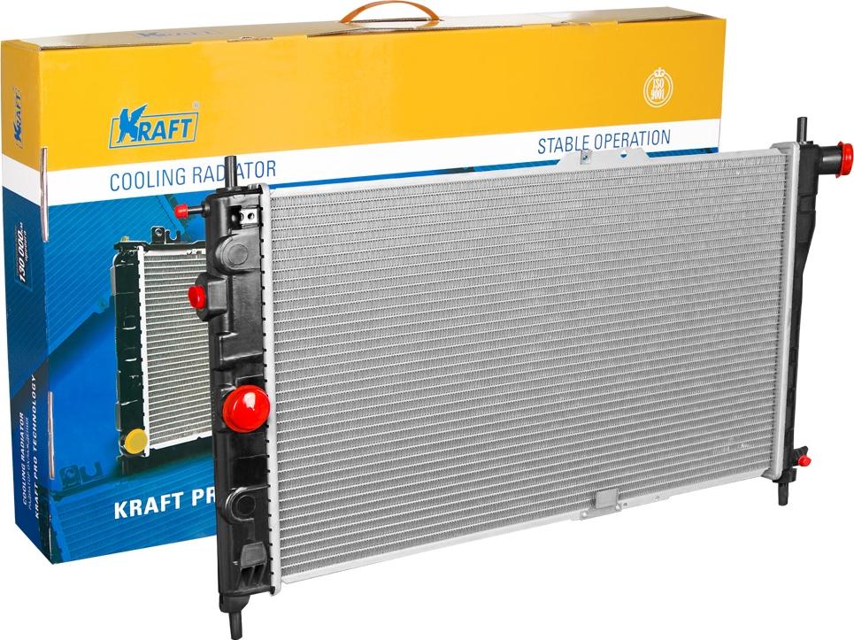 Радиатор охлаждения паяный Kraft, для Nexia MT дверь nexia