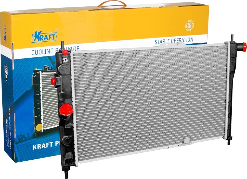 Радиатор охлаждения паяный Kraft, для Espero MTKT 104055Радиатор охлаждения паяный Espero MT Крупногабаритный товар.