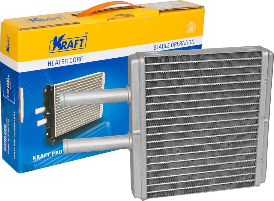 Радитор отопителя паяный Kraft, для Chevrolet Aveo цена