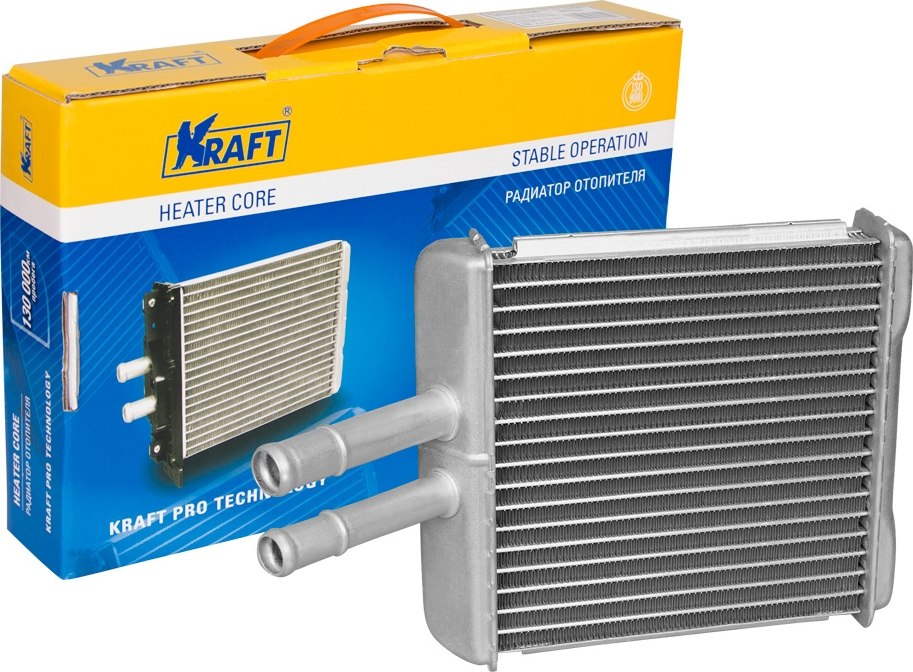 цена на Радитор отопителя паяный Kraft, для Chevrolet Lanos