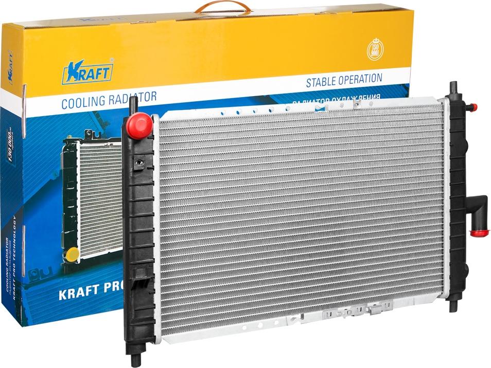 Радиатор охлаждения паяный Kraft, для Matiz Matiz (01-) M/A