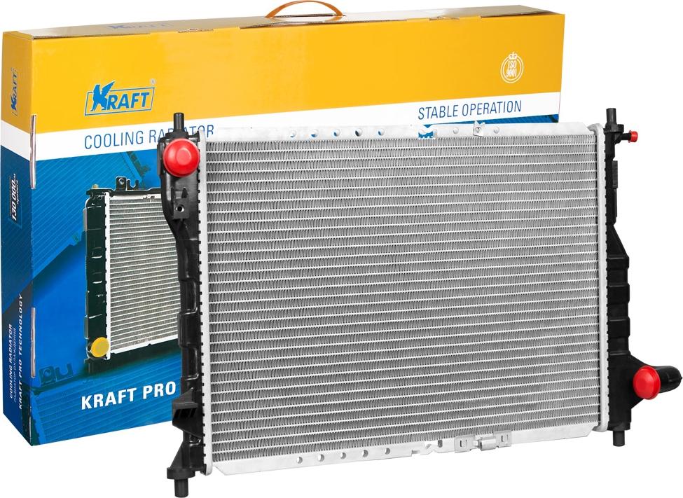 Радиатор охлаждения паяный Kraft, для Daewoo/Chevrolet автомагнитола clarion для daewoo