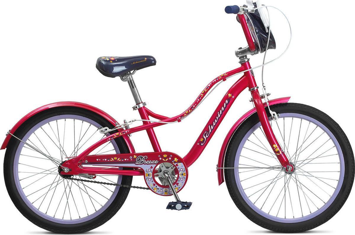 Велосипед детский Schwinn Breeze, розовый