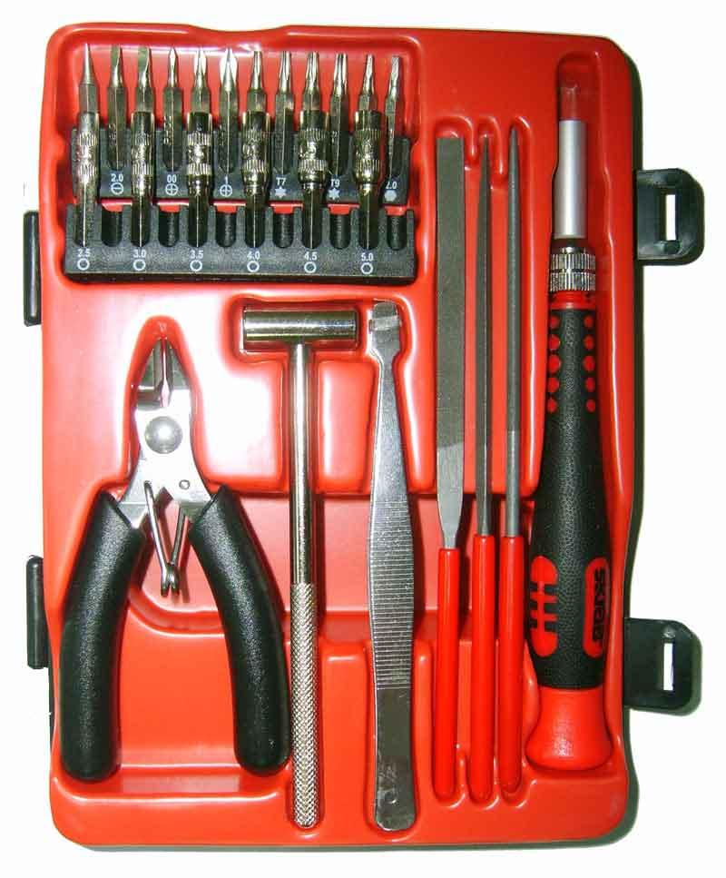 Набор инструментов Libman Набор бит 26пр. с молотком и кусачками SKRAB 41690 набор бит skrab 36 предметов