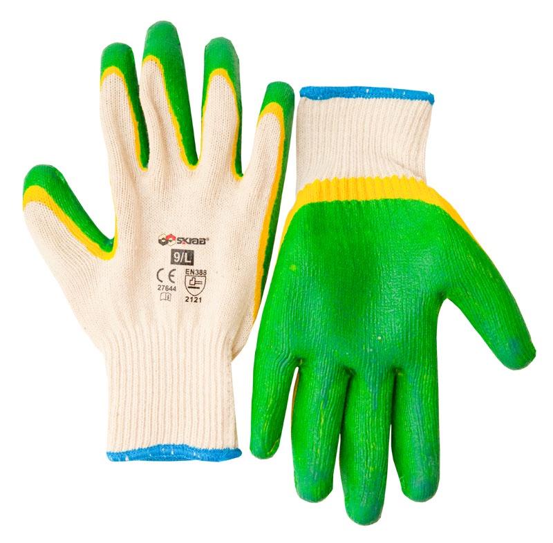 Фото - Перчатки защитные Libman Перчатки текстиль с дв. латексным риф. покрытием 10/XL 27645 перчатки с латексным покрытием airline awg c 09