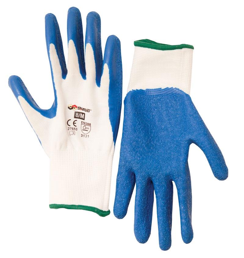 Перчатки защитные Libman Перчатки полиэстер с латексным риф.покрытием 10/XL 27655 sparket cool006 перчатки коленного сустава черепные перчатки велосипедные перчатки белый xl xl