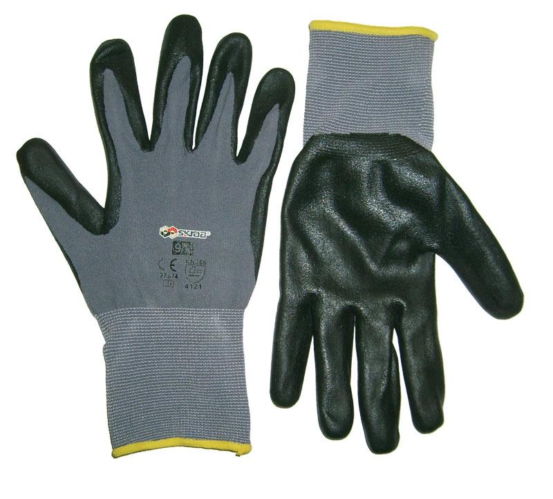 Перчатки защитные Libman Перчатки х/б с нитрил. глад. покрытием 10/XL 27665 sparket cool006 перчатки коленного сустава черепные перчатки велосипедные перчатки белый xl xl