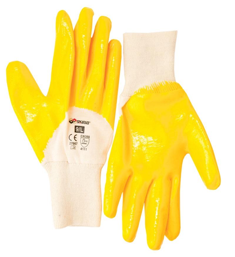 Перчатки защитные Libman Перчатки хлопок с нитрил. глад. покрытием 10/XL 27668 sparket cool006 перчатки коленного сустава черепные перчатки велосипедные перчатки белый xl xl