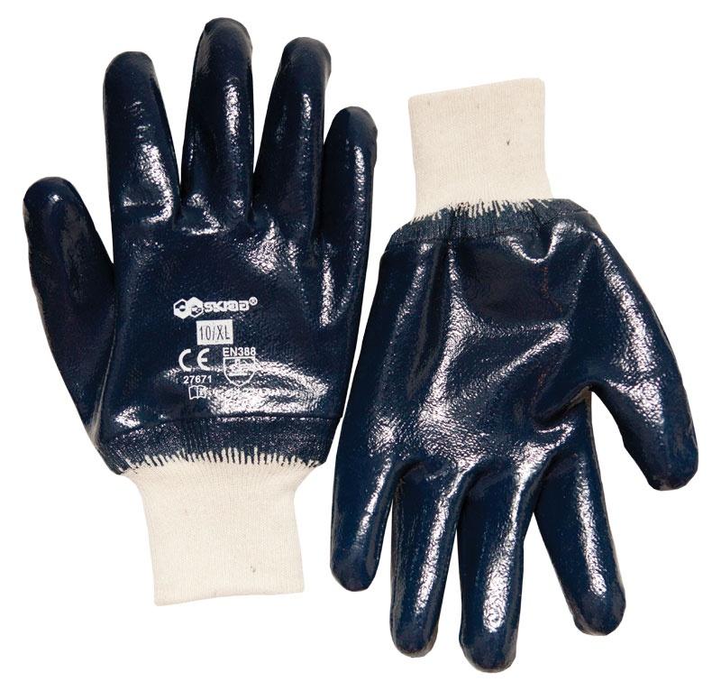 Перчатки защитные Libman Перчатки х/б с нитрил.глад.покрытием/манжета 10/XL 27671 sparket cool006 перчатки коленного сустава черепные перчатки велосипедные перчатки белый xl xl