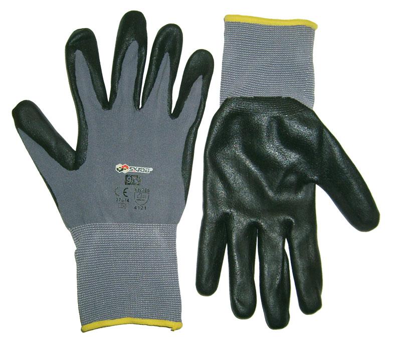 Перчатки защитные Libman Перчатки нейлон с нитрил. покрытием 9/L 27674 перчатки защитные boxer с облегченным нитриловым покрытием bxr2301sticker