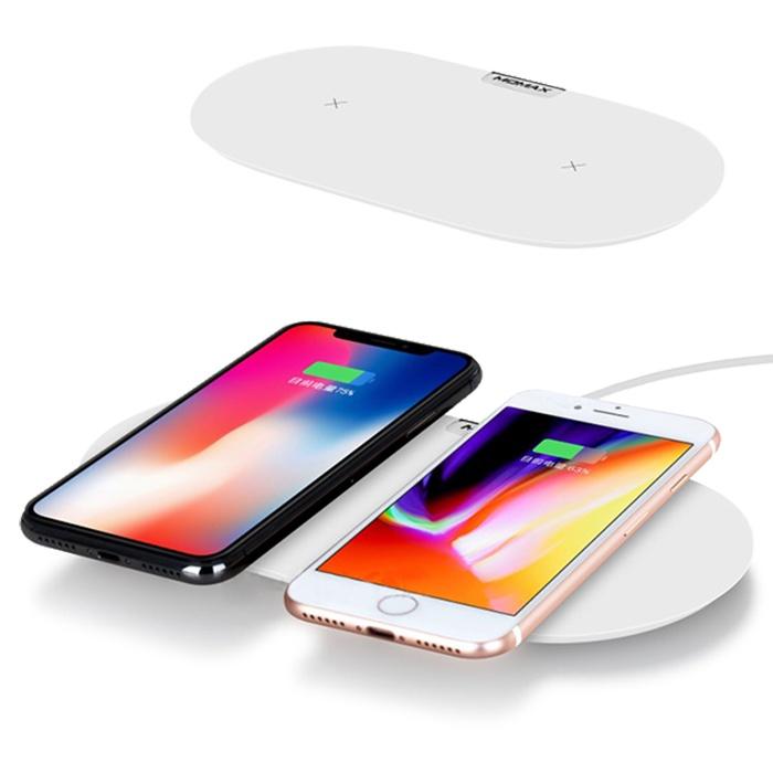 Фото - Беспроводное зарядное устройство Momax 14481, белый беспроводное зарядное устройство тотем z 3818q05b 201804 белый