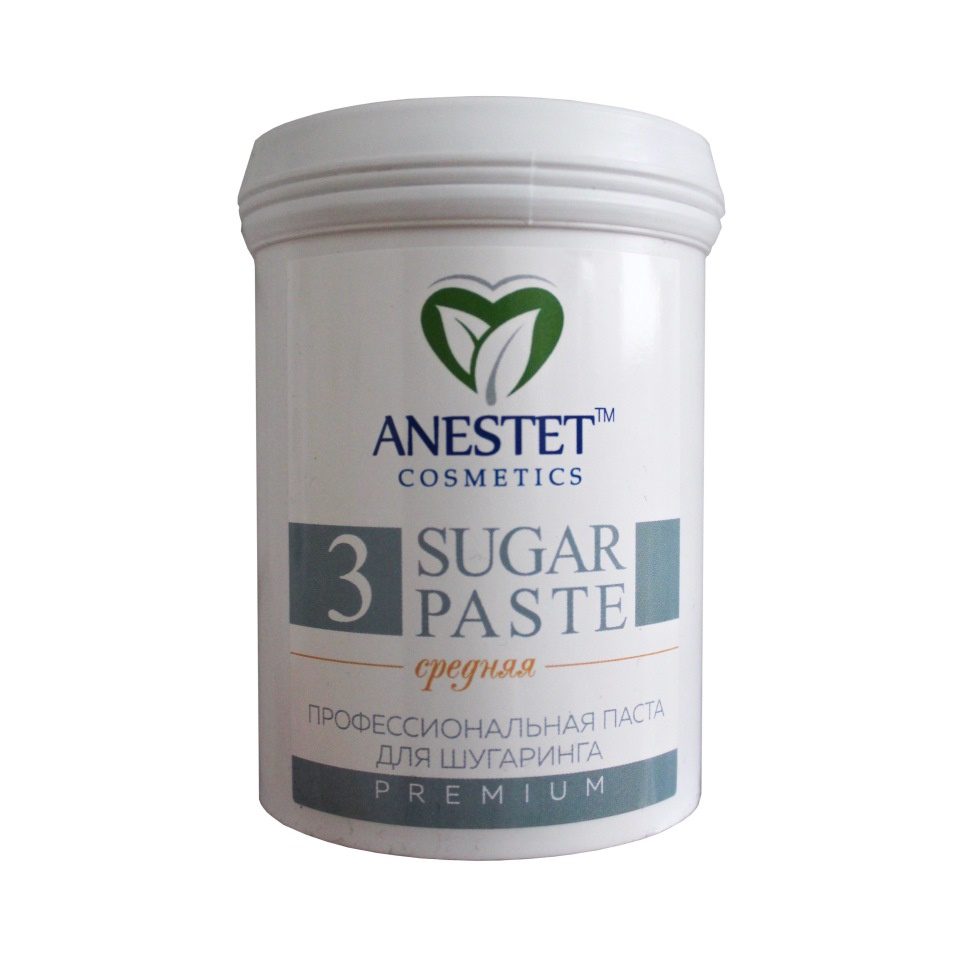 ANESTET Паста средняя 3 для шугаринга (Анестет), 800 гр.