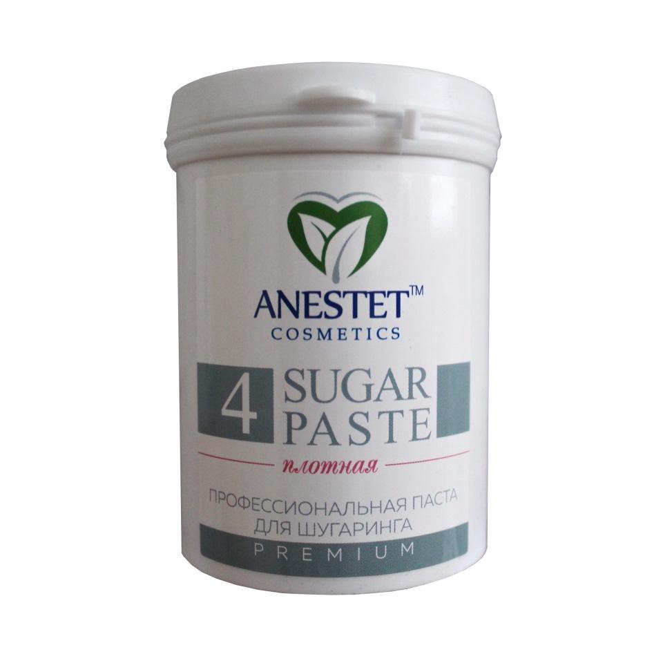 Сахарная паста ANESTET плотная, 800 грNF188004Плотная паста (№4) Anestet Premium рекомендована для удаления жестких волос на горячих зонах мануальной и шпательной техниками. Средство бережно и мягко удаляет нежелательные волоски, не обламывая их. Сахарная паста Anestet отлично сохраняет свои свойства в течении длительного времени, что делает процедуру более экономичной. Материал требует предварительного разогрева. Оптимальная температура — 38-40°C.