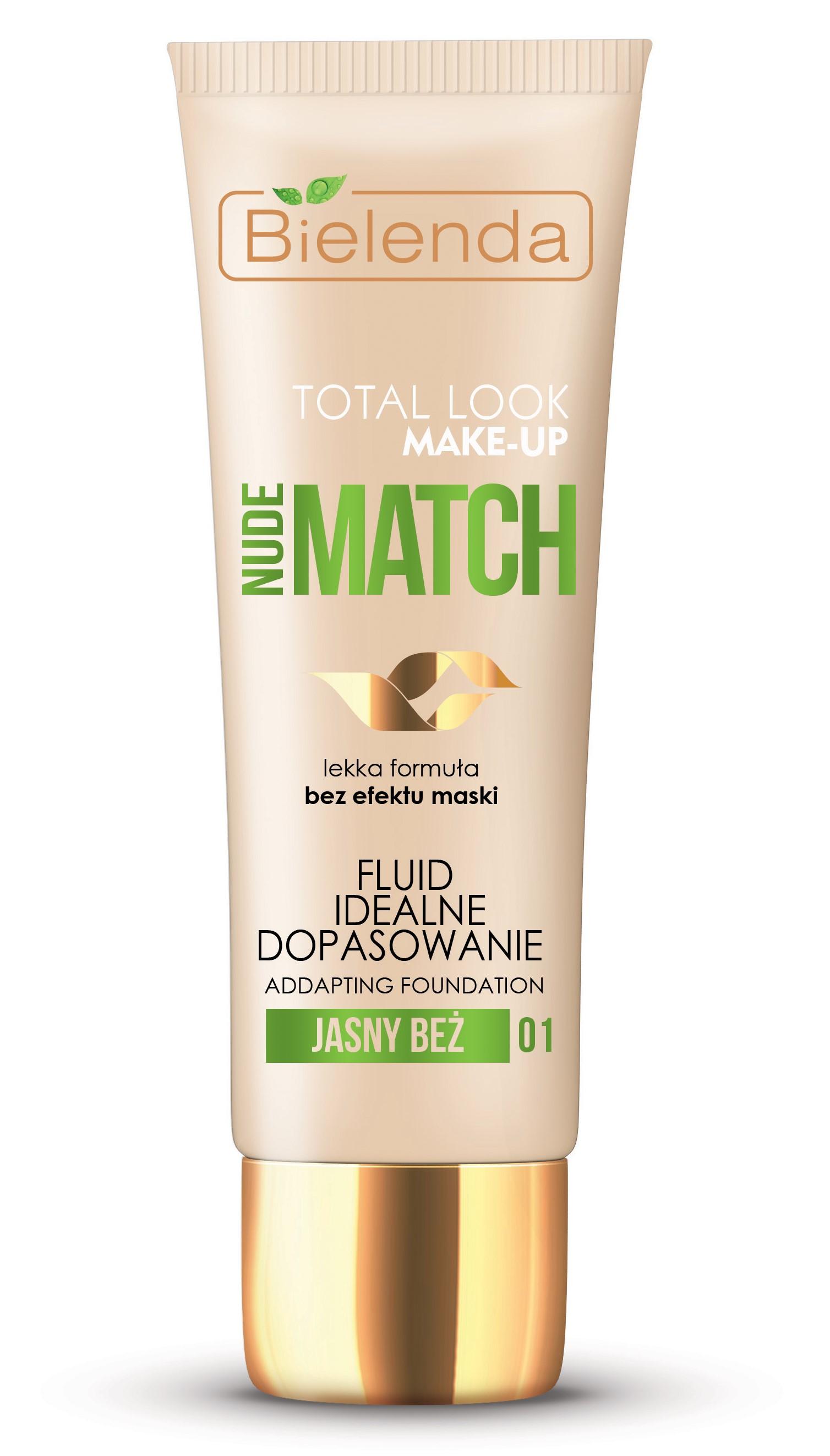 Тональный крем BIELENDA NUDE MATCH195377Крем отлично выравнивает тон и микрорельеф кожи, делает его более светлым, сияющим, ухоженным и гладким. Тональное средство хорошо подстраивается под тон кожи, благодаря чему выглядит очень естественно. Крем не утяжеляет кожу и не создает эффекта маски, обладает легкой, невесомой текстурой.