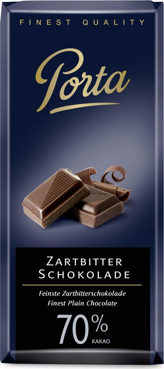 Шоколад Porta горький, с 70% какао, 100 г