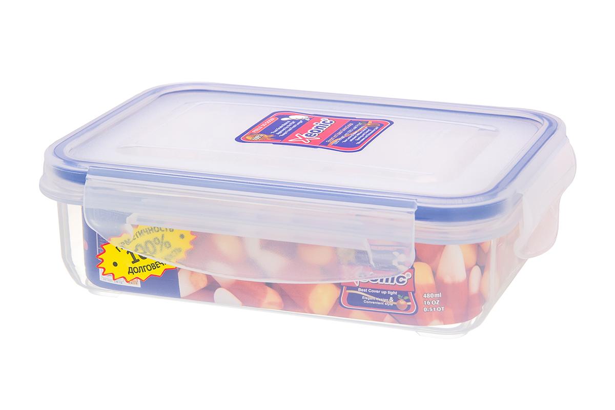 Контейнер пищевой Xeonic 810022, прозрачный контейнер герметичный 450 мл xeonic