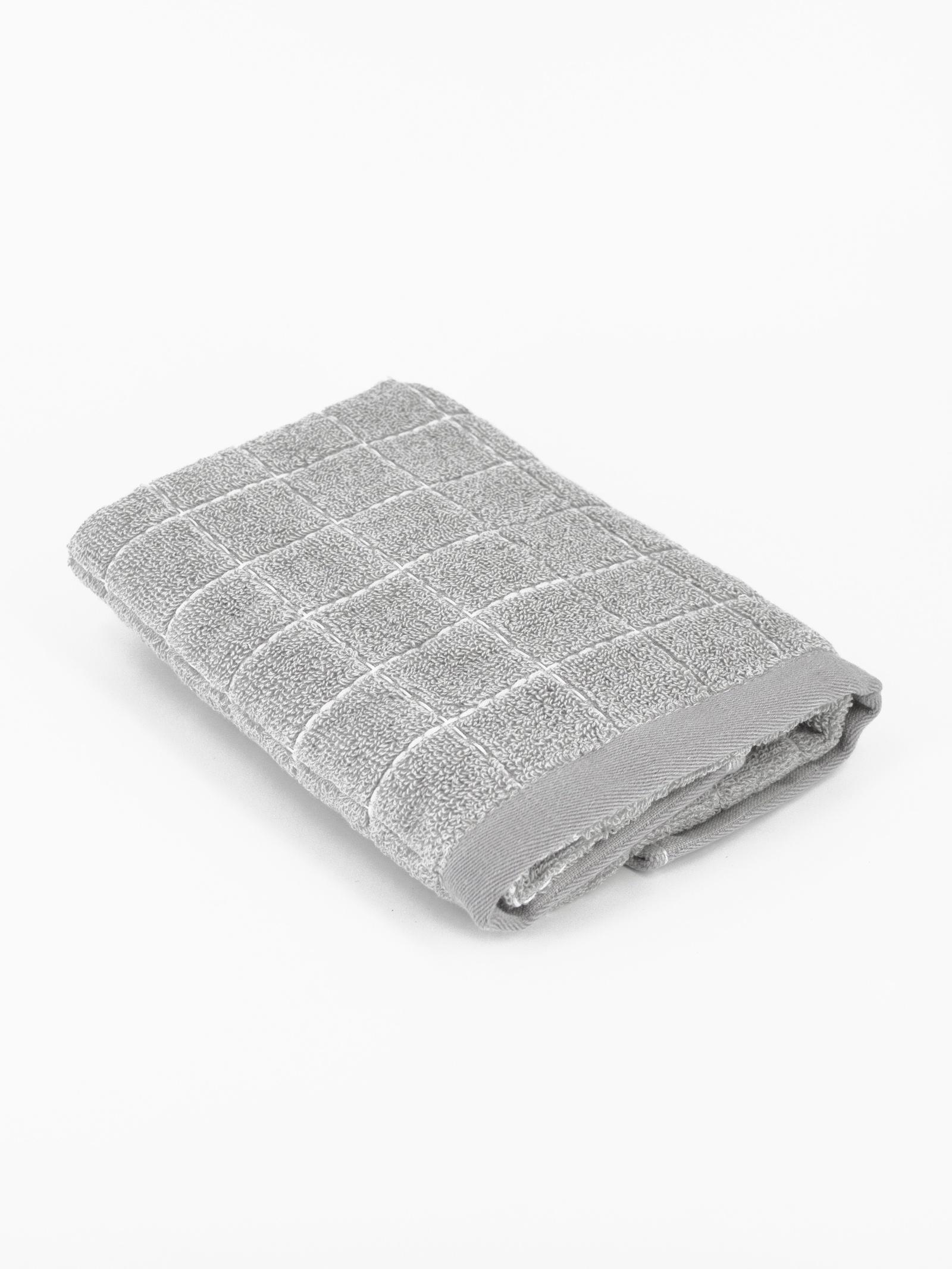 Банный комплект Удачная покупка Полотенца банные, светло-серый полотенца банные авангард полотенце махровое пестротканое жаккардовое ручки