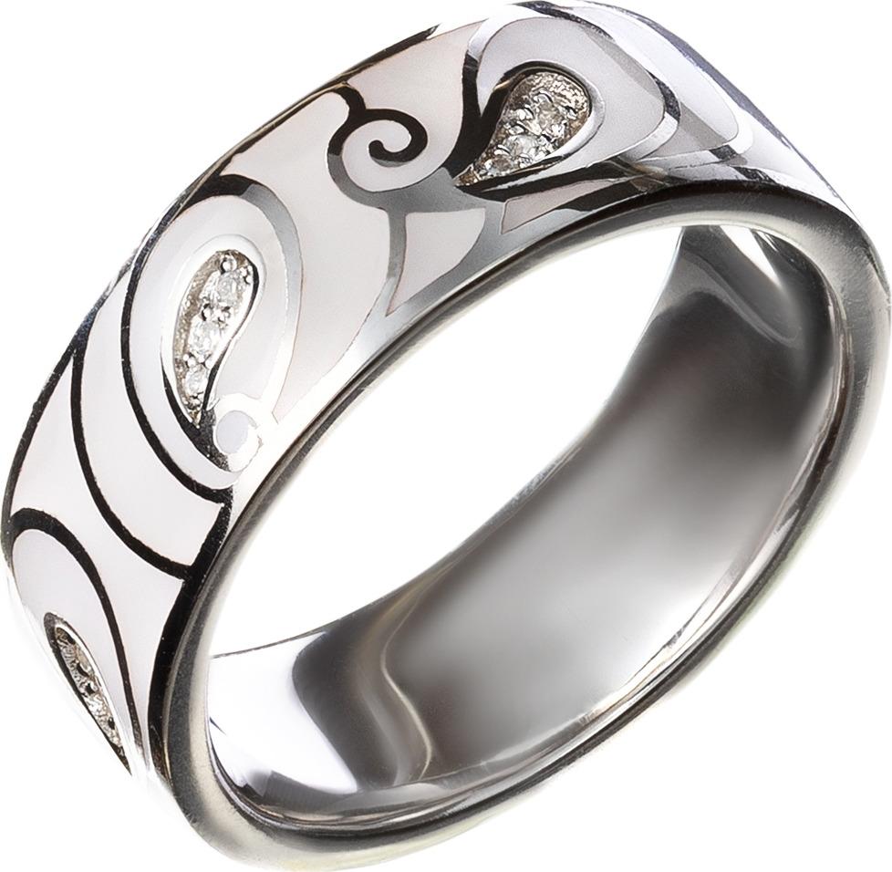 Кольцо Акцент Бриллиант, серебро 925, фианит, 17, 00000000387СереброКольцо из серебра с эмалью и фианитами. • Не замеряйте замерзшие пальцы, в этот момент их размер отличается от обычного. Для точного определения размера, замеряйте ваш палец в конце дня, когда его размер является наибольшим. • Определите, размер какого пальца вам необходимо узнать. Помолвочные и обручальные кольца принято носить на безымянном пальце правой руки. • Если вам подходят два размера, стоит выбрать больший. • Если сустав шире самого пальца – измеряйте диаметр сустава. • Если вы хотите приобрести кольцо с ободком шире 4 мм, его размер должен быть примерно на полразмера больше обычного.