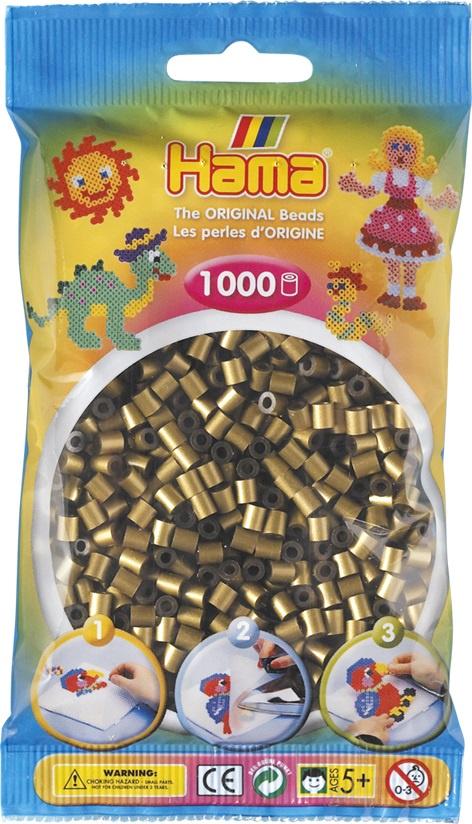Мозаика Hama Бусинки для термомозаики MIDI бронзового цвета. 1000 шт. 207-63