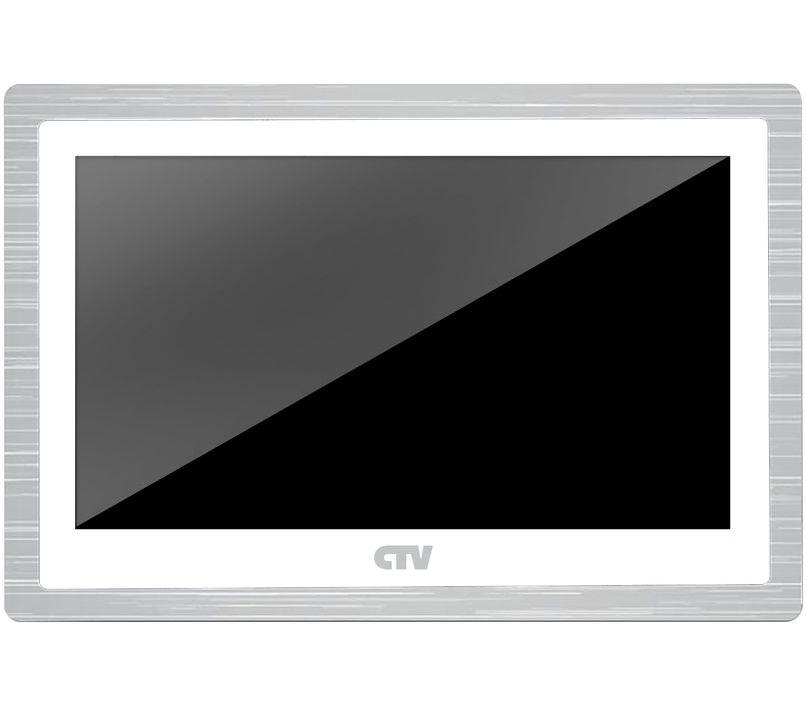 Видеодомофон CTV Монитор видеодомофона CTV-M4104AHD W, цвет белый, белый