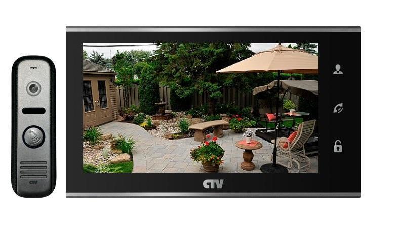 Фото - Комплект видеодомофона CTV-DP2702MD B видео