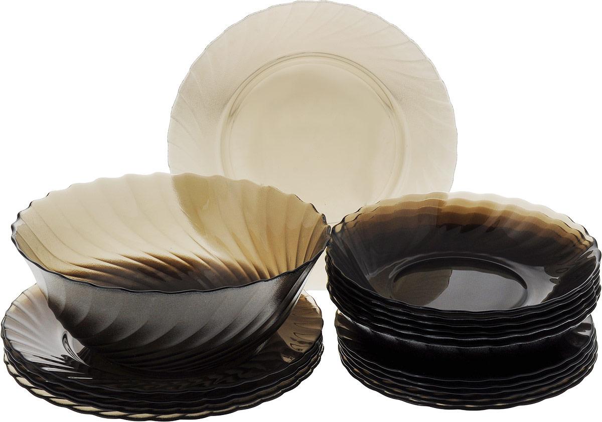 Набор столовой посуды Luminarc Океан Эклипс, L5108, коричневыйL5108