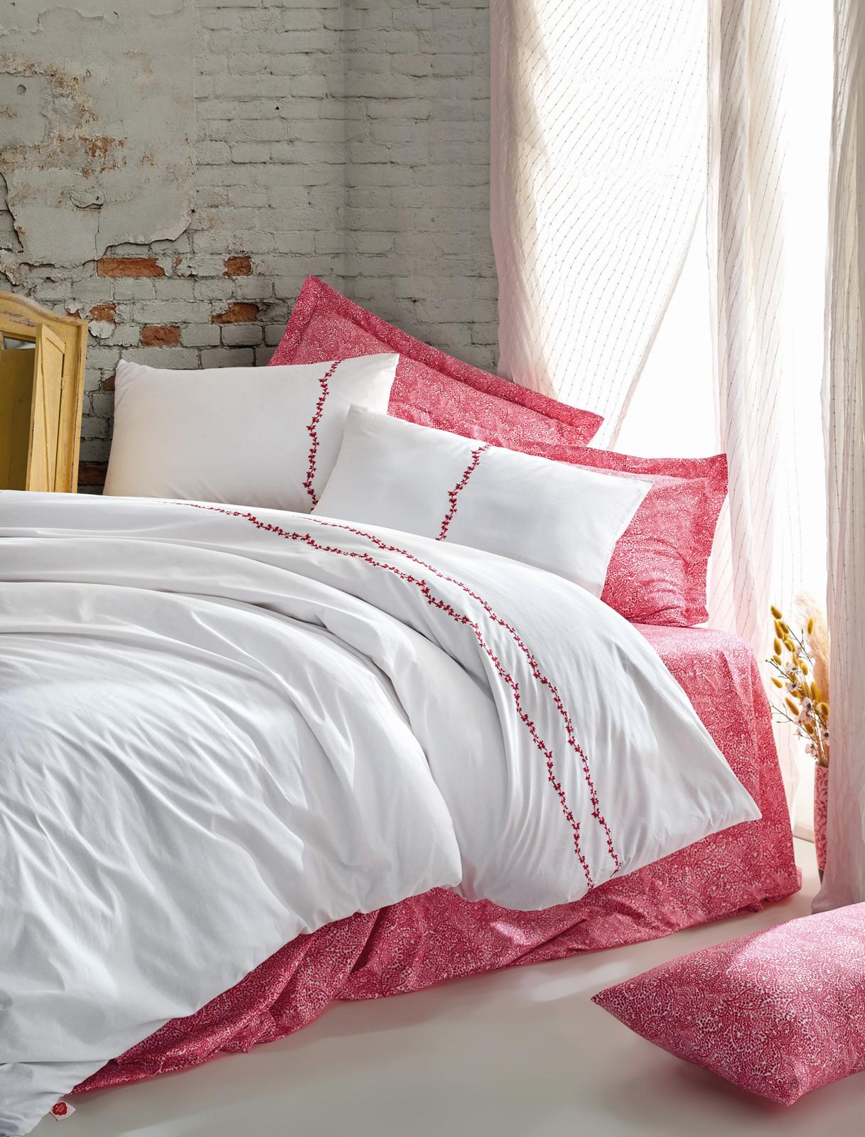 Комплект постельного белья Cotton Box серия Majestic, модель Coco евро, ранфорс