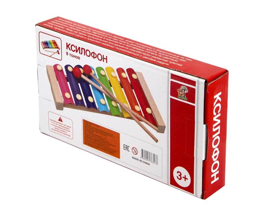Музыкальная игрушка База игрушек 703270328 тональный ксилофон