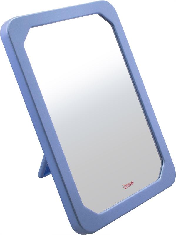 Зеркало косметическое Weisen косметическое настольное, голубое, 9364 SPL, голубой косметическое зеркало на кронштейне heritage aha16