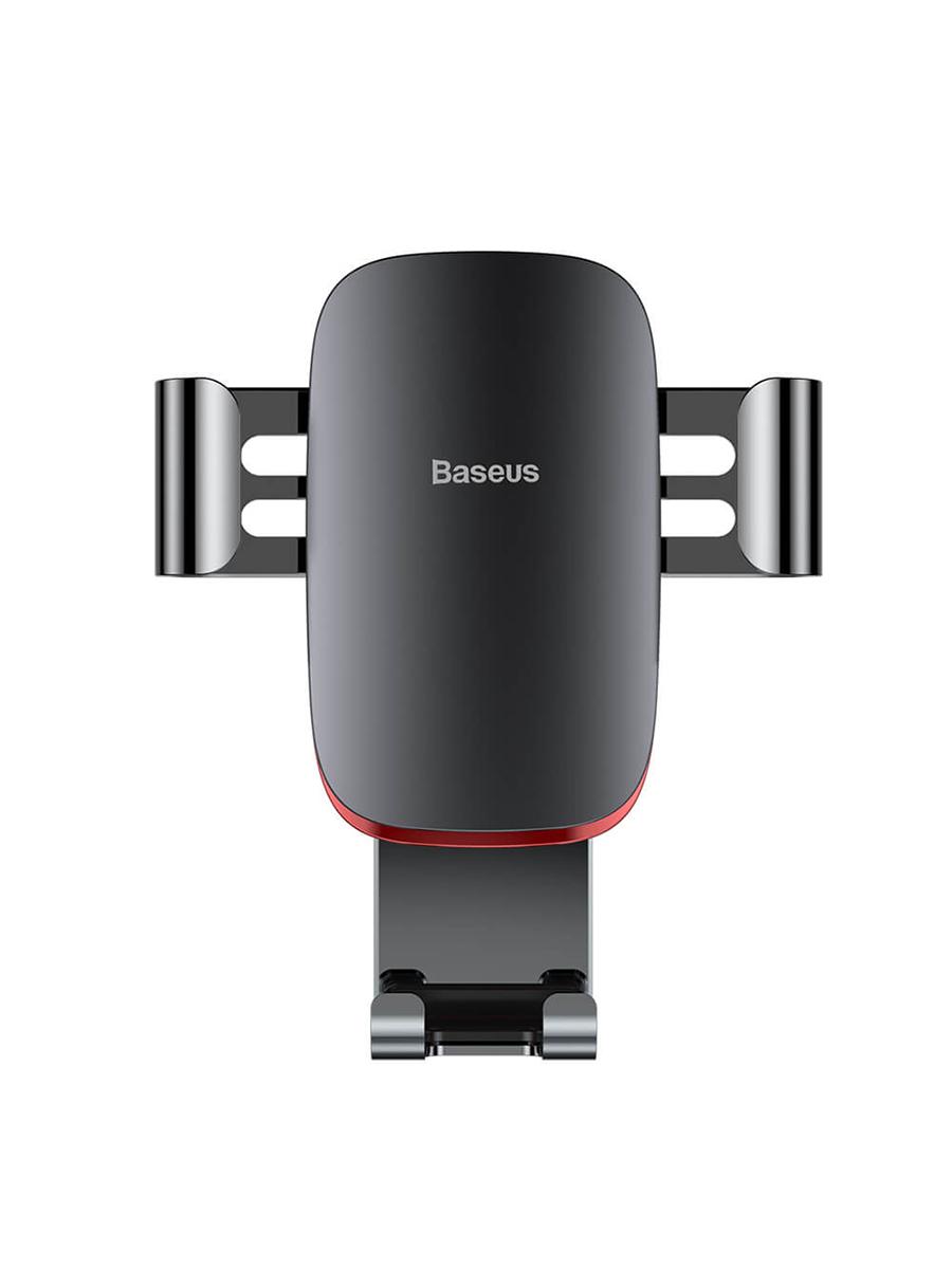 Автомобильный держатель BASEUS Suyl-D0G, темно-серый автомобильный держатель для телефона в дефлектор baseus metal age gravity серый suyl d0g