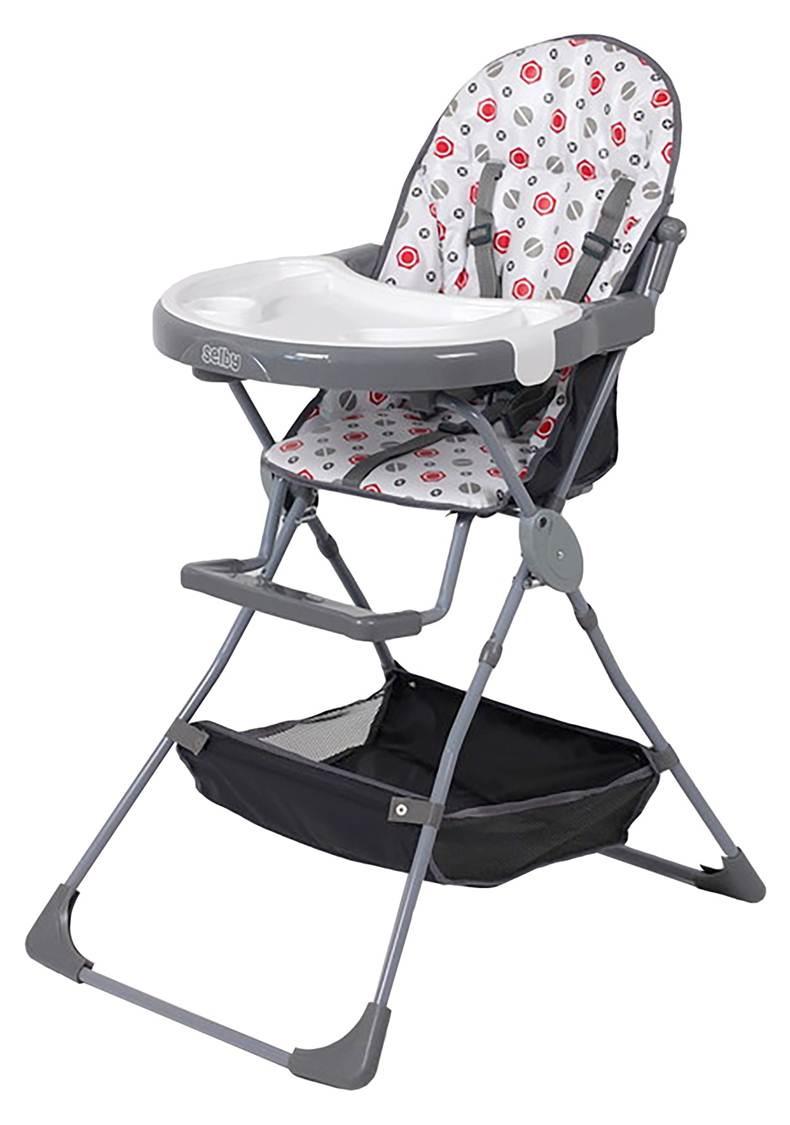Стульчик для кормления selby серый серый стульчик подставка babybjorn цвет серый белый