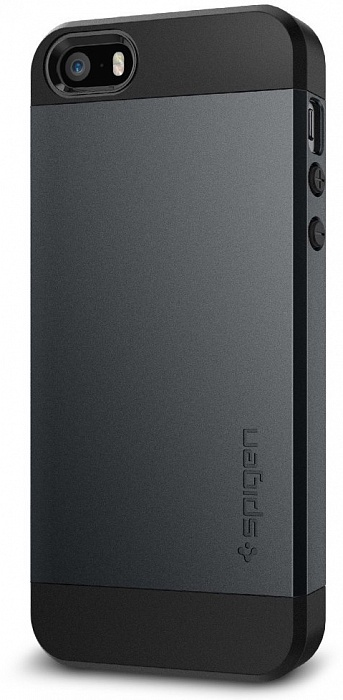 Чехол для сотового телефона SGP Slim Armor (041CS20174) для iPhone 5/5S/SE, черный стоимость