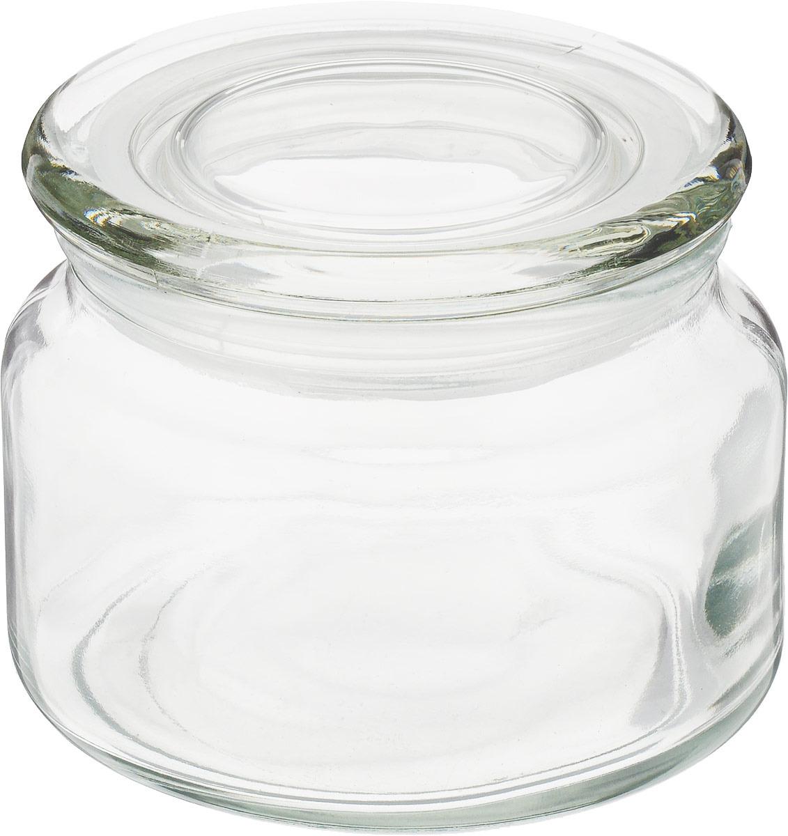 Банка для сыпучих продуктов Loraine, 28084, прозрачный, 270 мл банка для сыпучих продуктов loraine 28190 прозрачный 600 мл