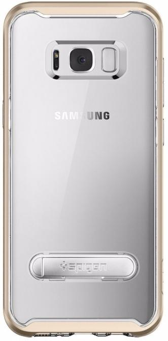 Чехол для сотового телефона SGP Crystal Hybrid (565CS20836) для Samsung Galaxy S8, золотой аксессуар чехол spigen для samsung galaxy note 8crystal hybrid champagne 587cs21840