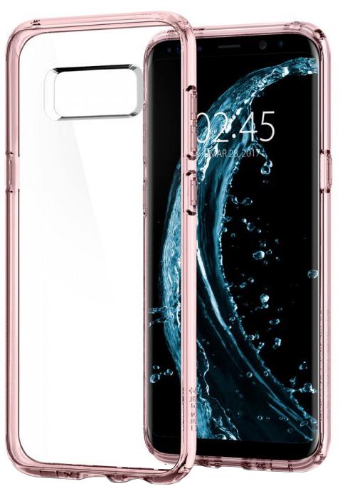 Чехол для сотового телефона SGP Ultra Hybrid (565CS21632) для Samsung Galaxy S8, розовый