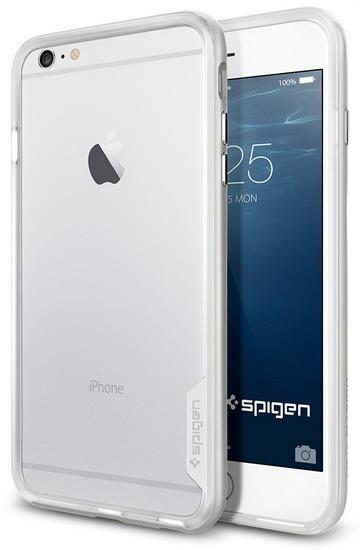Чехол для сотового телефона SGP Neo Hybrid EX (SGP11062) для iPhone 6 Plus/6S Plus, белый аксессуар чехол spigen sgp neo hybrid metal series для iphone 6 plus 5 5 inch champagne sgp11071