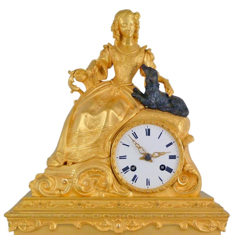 Старинные часы Часы каминные